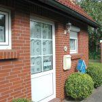 Eingangstür Ferienhaus Roese